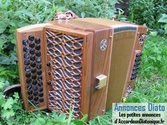 accordéon diatonique SERAFINI