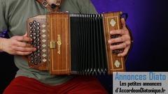 Cours en ligne - accordéon diatonique - Stéphane Milleret