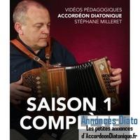 Vidéos pédagogiques en ligne d'accordéon diatonique - Stéphane Milleret