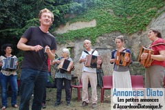 Stage Accordéon Diatonique avec Cédric Pierini