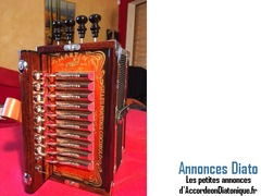 A vendre accordéon diatonique Martin Junior Gilles Poutoux