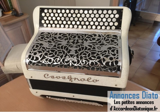 Accordeon cavagnolo compact plus