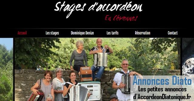 Stage d'Accordéon Diatonique dans les Cévennes