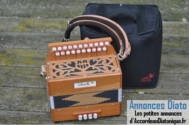 Accordéon diatonique Saltarelle
